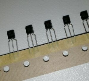 Bf423 Pnp High Voltage Transistor To92 Lot Of 5 Pcs