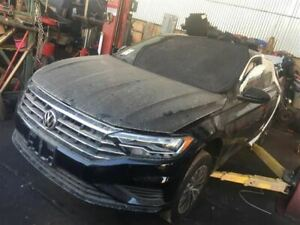 Black Seat Front Leather Driver Side Fits 2019 Volkswagen Jetta Oem