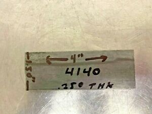 Cold Finished Steel Flat Bar 4140 Annealed 250 X 1 50 X 4 Long