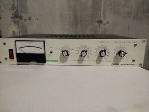 Pacific Precision Instruments High Voltage Power Supply Model 204 10l