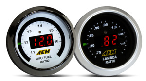 Aem 30 4110 Digital Wideband O2 Uego Air Fuel Ratio Bosch 4 9 Lsu Gauge Kit New