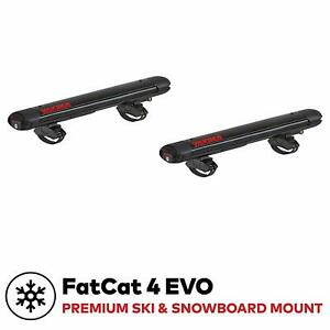 Fatcat Evo Rooftop Ski And Snowboard Mount Universal Mounting System Tool Free