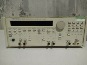 Wavetek Model 91 20 Mhz Synthesized Pulse Function Generator