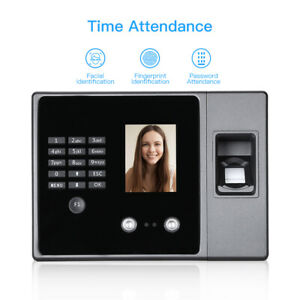 Biometric Face Fingerprint Attendance Machine Reader Usb Flash Driver