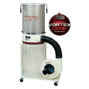 Jet 708659k Dc 1100vx ck Dust Collector 1 5 Hp 1ph 115 230 V 2 micro