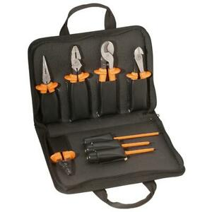 Klein Tools 33526 8 Piece Basic Insulated Tool Kit