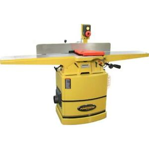 Powermatic 1610086k 60hh 8in Jointer 2hp 1ph With Heli