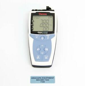 Thermal Orion 5 Star Portable Ph ise do Meter Used 7109 R