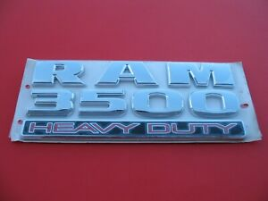 2009 2018 Dodge Ram 3500 Heavy Duty Side Emblem Logo Badge Sign Symbol New B1511