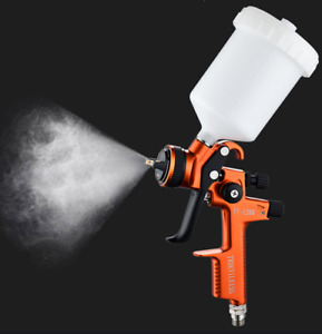 Professional Hvlp Spray Gun 1 3 Mm With 600ml Cup Auto Paint Sprayers Car