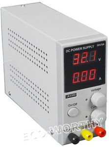 Switching Dc Power Supply Adjustable Variable Precision Digital Lcd 30v