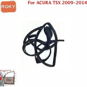 For Acura Tsx 2009 2014 Door Weatherstrip Rear Right Opening Seal Stripping