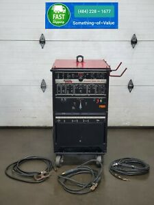 Lincoln Square Wave Tig 355 Tig Welder Ac Dc Single Phase 208 230 460