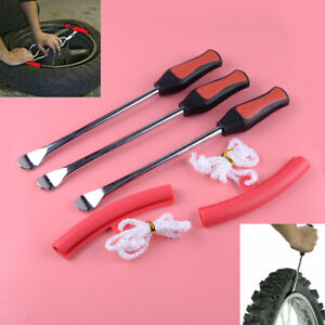 Motorcycle Tire Spoon Lever Tools Bike Bicycle Wheel Changing Removing Tools