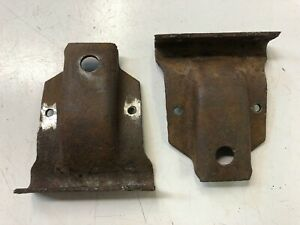 1926 1927 Ford Model T Coupe Tudor Front Sub Frame To Frame Brackets Under Cowl
