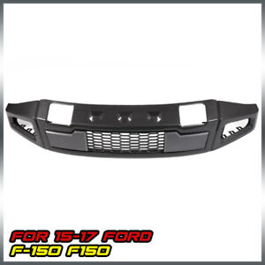 Front Bumper Body Kits Conversion Raptor Style Iron Fit For 2015 2017 Ford F150