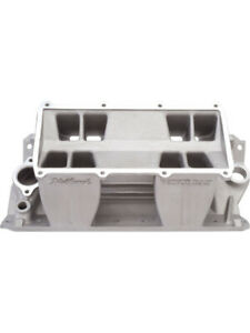 Edelbrock Intake Manifold Victor Tunnel Ram Base Natural Chevy Small Block 7070