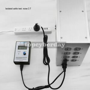 Ac Noise Analyzer Emi Tester Meter Lcd Digital Display Power Cable 220v 240v