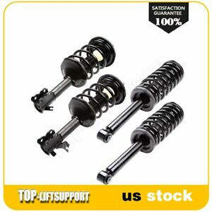 For 1995 1999 Nissan Maxima Front Rear Complete Struts Shocks Spring Assembly