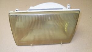 1987 93 Mustang Oem Driver Side Center Headlight Lh Left L Head Light Lens