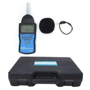 Hp 882a Digital Sound Level Meter 30 130db Noise Decibel Meter Tester With Box