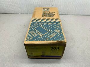 New In Box Square D 30amp 600v Heavy Duty Safety Switch H361nrb