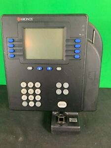Kronos 4500 Time Clock W Touch Id Biometric Scanner 8602800 001