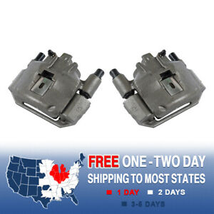 Front Oe Brake Calipers For 1994 1995 1996 1997 1998 Ford Mustang Base Gt V6 V8