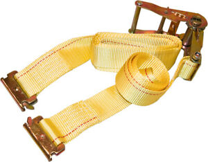 12 Pack Yellow E track Ratchet Straps 12 X 2 Cargo Van Tie Downs Trailers