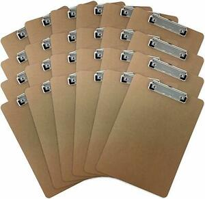 Clipboards set Of 24 By Office Solutions Direct Eco Friendly Hardboard Clipboa