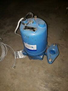 Goulds Ws0511bf Submersible Sewage Pump 1 2hp 185gpm