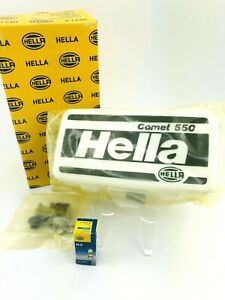 Hella Universal Comet 550 Black Yellow Fog Light 1nd005700 421 H3 Bulb Truck