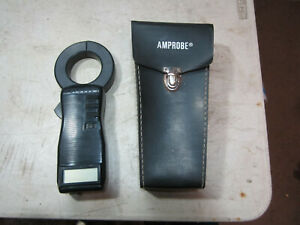 Amprobe Ac dc1000 1000a Amp 2000 Ohm Digital Clamp on Meter W F2 Leather Case