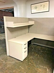 6 x6 x67 h Cubicle Partition System By Steelcase Answer