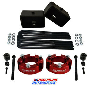 3 Front 3 Rear Leveling Lift Kit Diff Drop For 2005 2020 Toyota Tacoma 4wd