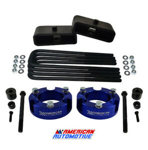2 5 Front 1 5 Rear Leveling Lift Kit Diff Drop For 2005 2020 Toyota Tacoma