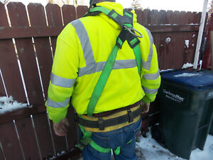 3m Full Body Safety Harness Apache Xxl 400lb Class A P Fall Protection Arrest