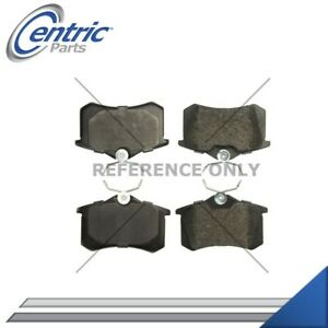 Rear Brake Pads Set Left And Right For 2014 2017 Peugeot 208