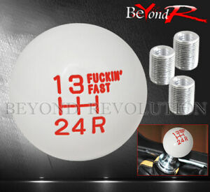 For Chevy Shift Knob Racing Short Throw Vintage F Ing Fast Adapter Kit 5psd Red