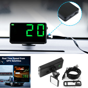 Universal Digital Car Gps Speedometer Speed Display Km H Mph For Bike Motorcycle