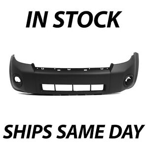 New Primered Front Bumper Cover Fascia For 2008 2012 Ford Escape Suv 08 12
