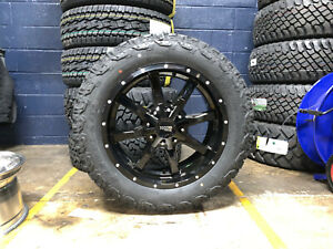 20x9 Moto Metal Mo970 Black Wheels Rims 32 At Tires 6x135 Ford F150 Expedition