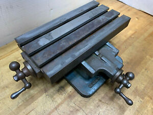 Palmgren X y Cross Slide 12 8 Table Dual Axis Positioning 11 12 Base Heavy Mill