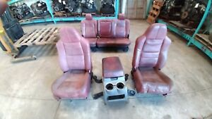2008 2010 F250sd King Ranch Seats Full Set With Console