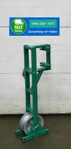 Greenlee 649 Pipe Adapter Sheave For Your Tugger Wire Cable Puller 3