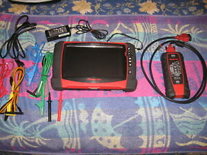 Snap On Verus Pro D10 Diagnostic Scan Tool With 4 Channel Lab Scope16 4 Software