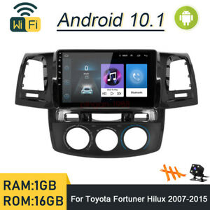 Android 10 1 Car Dvd Player Radio Gps Navi Wifi For Toyota Fortuner Hilux 2012