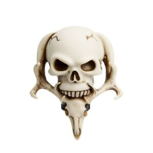 Ivory White Car Truck Manual Stick Universal Shift Shifter Lever Knob Skull Head