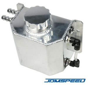 Universal 1l Aluminum Radiator Coolant Overflow Bottle Recovery Water Tank