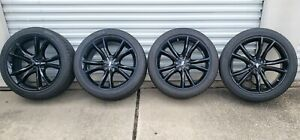 20 Oem Factory Challenger Charger 300 Rt Black 2545 Wheels Rims 20 Inch 2018